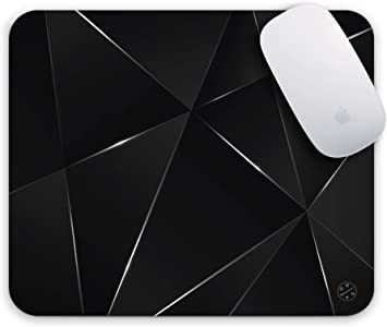 Home Office Marble Effect Pattern Mouse Mat Pad Computer PC Laptop Pad CB