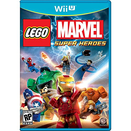 LEGO: Marvel Super Heroes - Nintendo Wii U (Best 4 Player Wii Games)