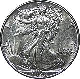 1940-1945 U.S. Walking Liberty Silver Half Dollar
