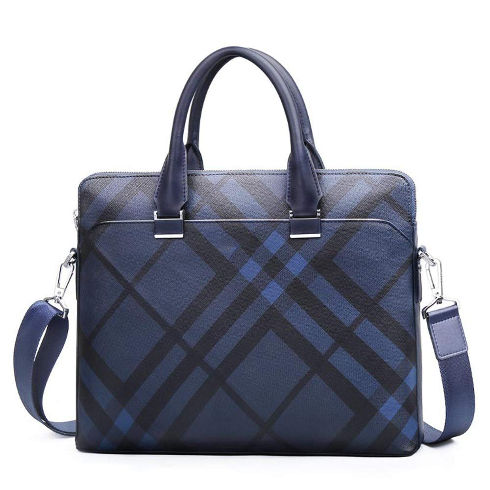 Lianai11 Laptoptasche Geschäft Tasche Herren Aktentasche 14 Zoll Mode Leder Laptop Tasche