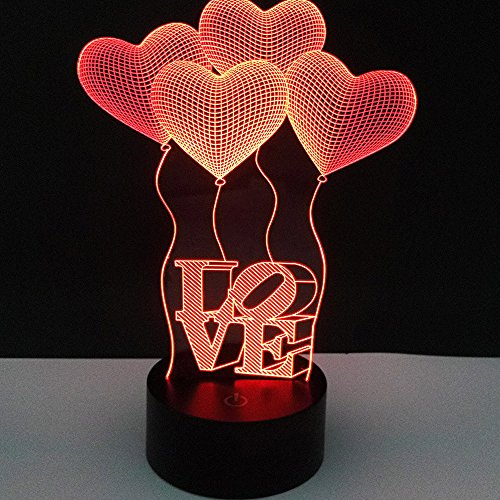 Illusion Deruicent Heart Novelty Changing product image