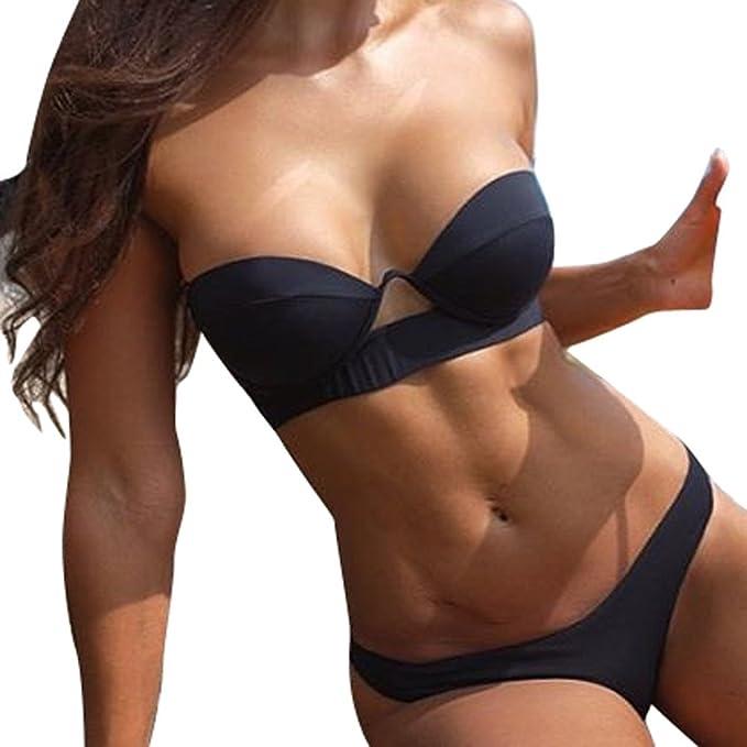 9b013d37beba Italily Donna Bikini, Costume da Bagno, Sexy Costume da Bagno Reggiseno  Imbottito Costumi da Bagno Donne Beachwear Mare Costume Estate: Amazon.it:  ...