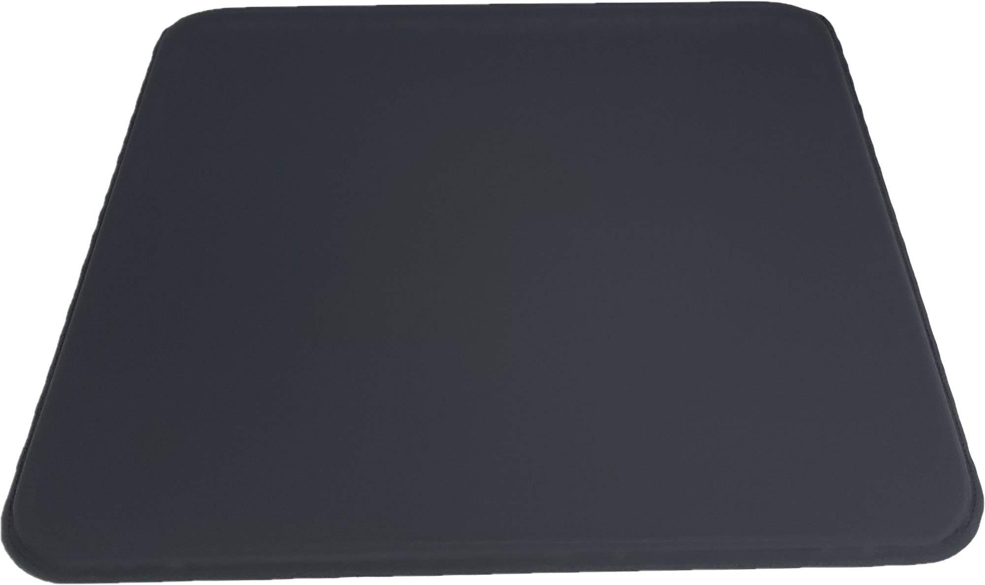 ULTRAGEL Anywhere, Anytime Personal Comfort Gel Pad-SG (Soft Gel) (16.5x18.5, Black/Non-Slip) by ULTRAGEL