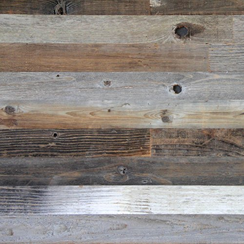 (Reclaimed Wood Paneling (Wall & Ceiling) - 3