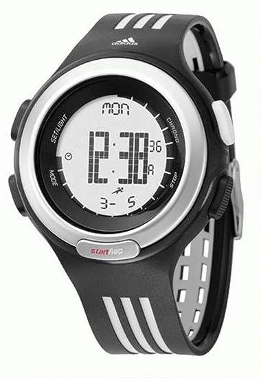 adidas ADP3014 - Reloj digital de cuarzo para hombre con correa de plástico, color negro: Amazon.es: Relojes