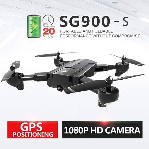 RENYAYA Drones de GPS Profesionales con cámara 1080p WiFi HD Dron ...