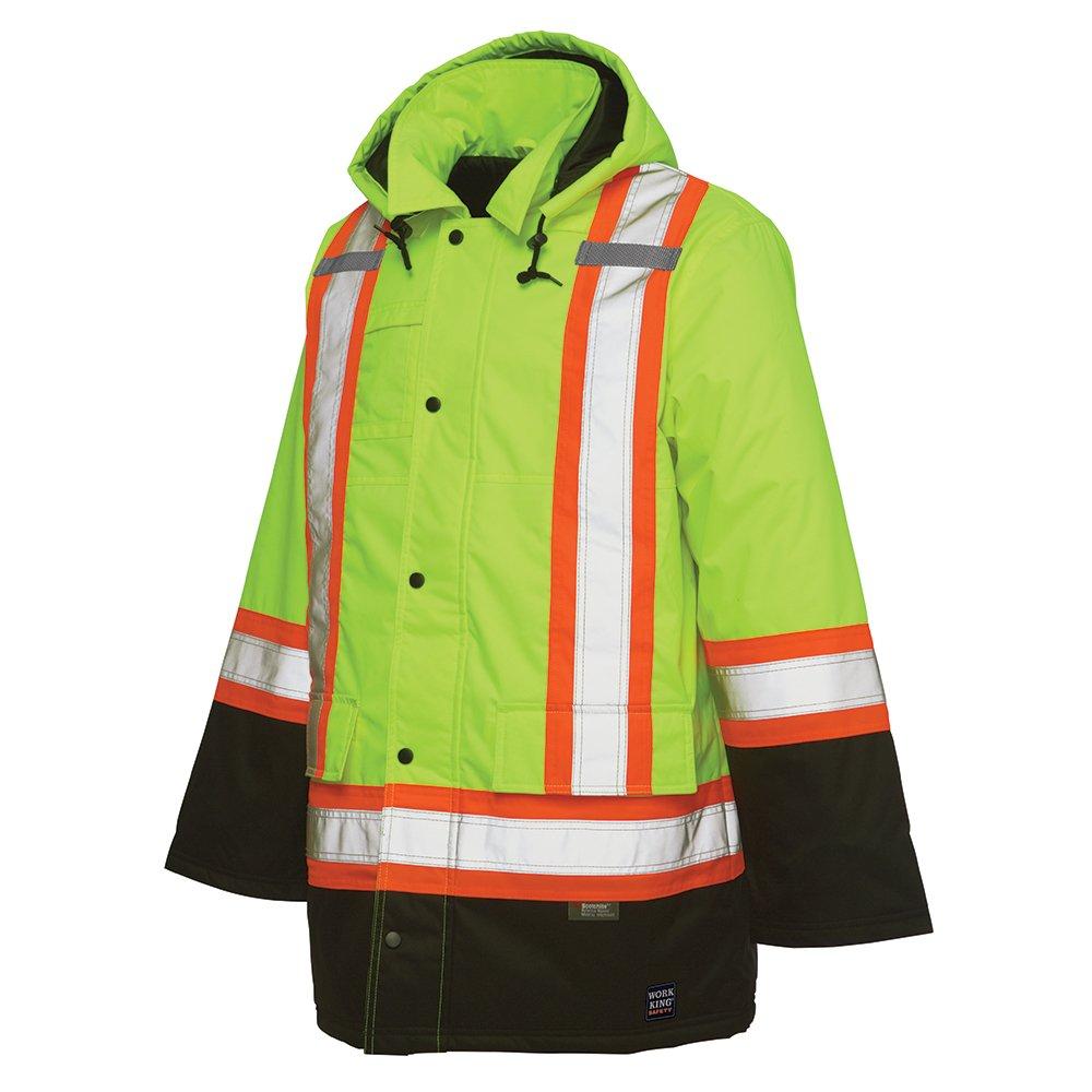 Work King Safety SHIRT メンズ B00IOTZLLW 3L|Flgr Flgr 3L