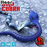 Autumn Water Remote Control Cobra Snake Horror Gadget Antistress Jokes Grownups Kids Battery Operation Halloween Toy Outdoor Toys Blue Yellow