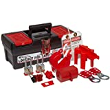 Brady Personal Lockout Kit for Common, Breakers, Valves, and Plugs, Includes 2 Steel Padlocks