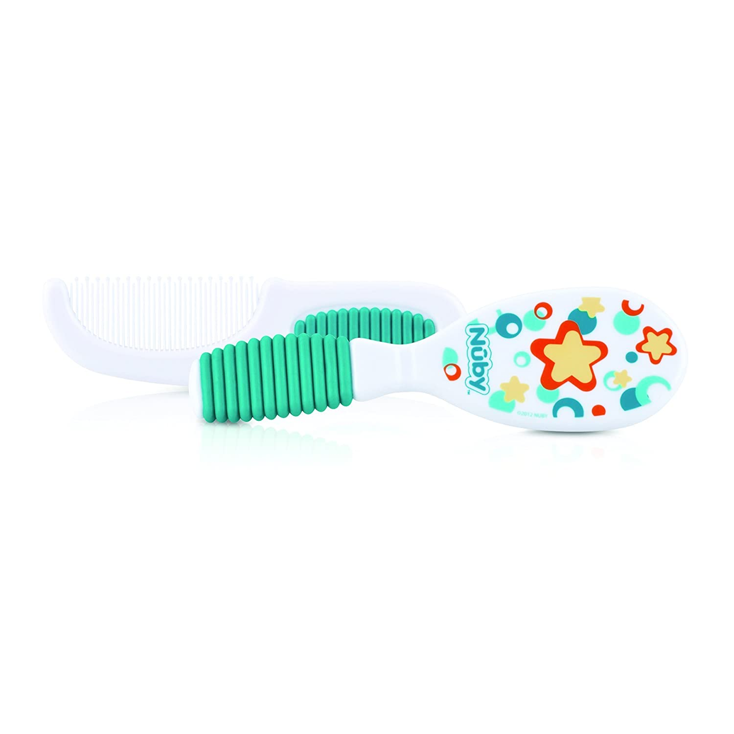 Nuby Comb and Brush Set Aqua 537730AQ