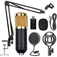 Mainstayae BM800 Professional Suspension Microphone Kit Studio Live Stream Broadcasting Recording Condenser Microphone Set