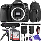 Canon EOS 80D DSLR Camera Body with ULTIMATE travel BUNDLE!