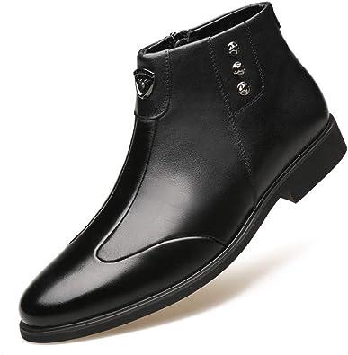 Botas Chelsea para Hombres Zapatos de Cuero cómodos y cómodos ...