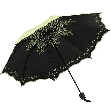 Sabarry UV Funda Pantalla, Grande Paraguas automático bastón Pantalla Mujer Niños Resistente al Viento Double