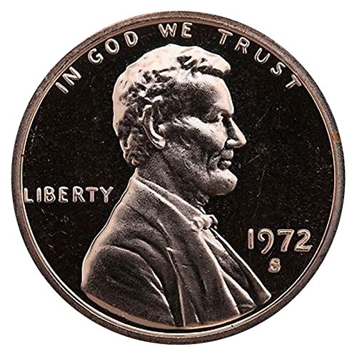 1972 S Lincoln Memorial Penny Cent Gem Proof US Mint