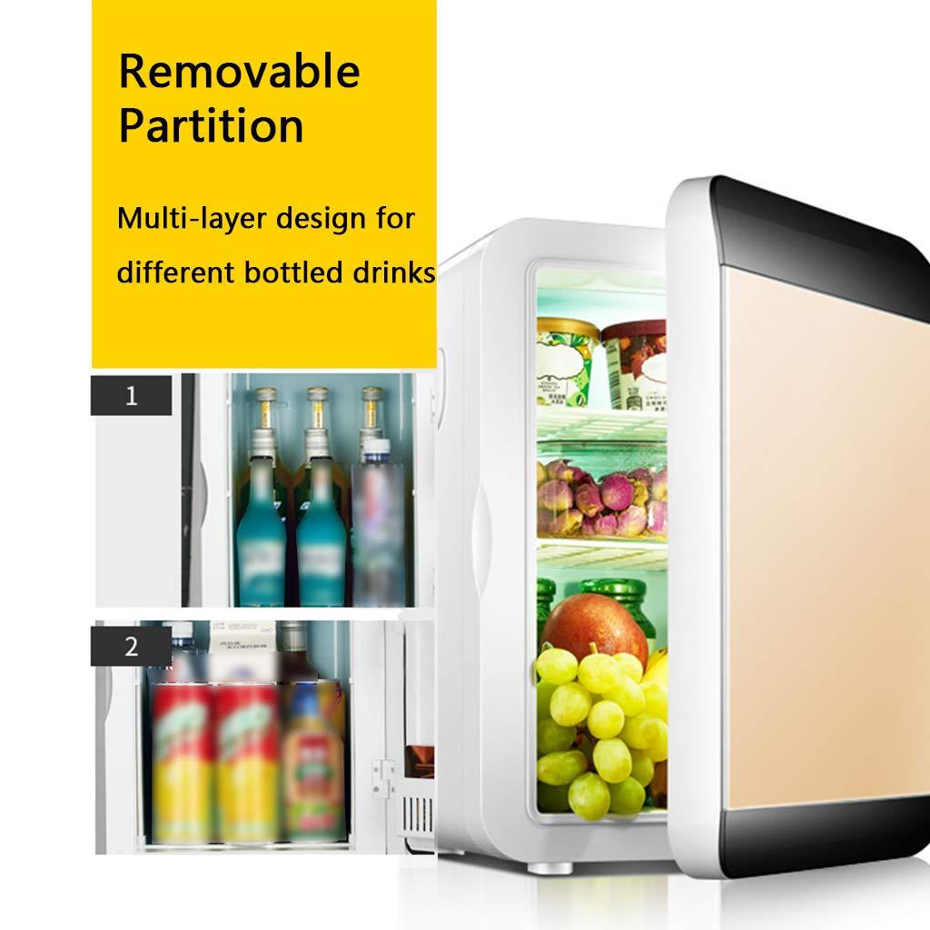 LUCKFY Congelador eléctrico Mini refrigerador de 12L ...
