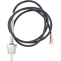 1/2 pulgada 6mm Pt100 temperature sensor termopar con vaina inox - 30 50 100
