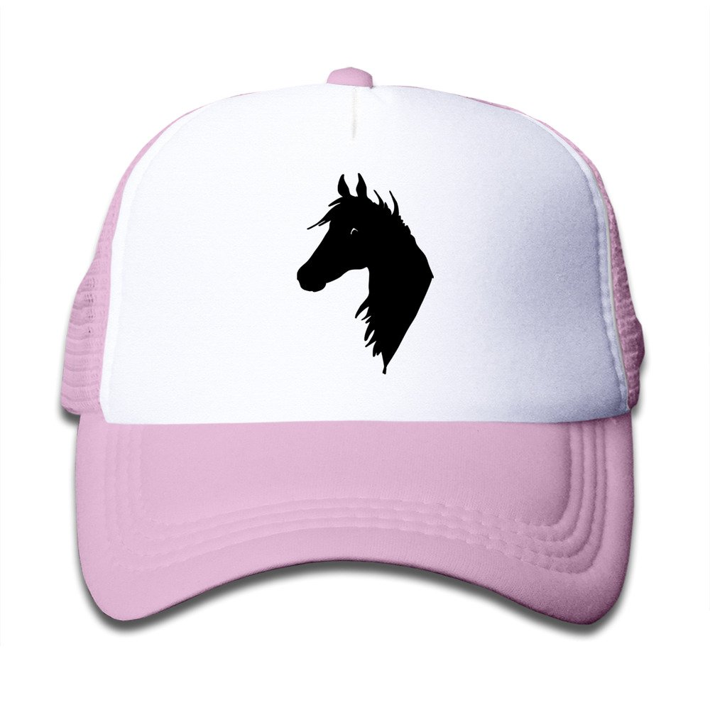 Hot Topic Horse Kids Baseball Trucker Caps Hat Boys Girls Adjustable Cotton By JE9WZ