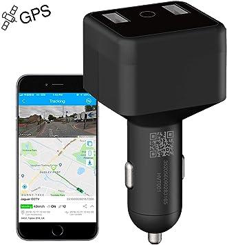 Localizador GPS,JPSTKER Mini Coche Rastreador GPS Seguimiento en ...