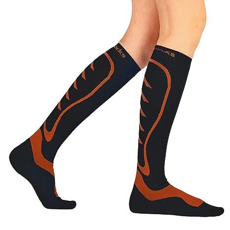 Calcetines compresores deportivos (PAR) unisex - Todos los deportes - Calcetines de compresión gradual