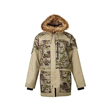 a804a084f5fd0 Amazon.com: Burton Undefeated X Alpha Industries N-3B Parka Mens Sz ...