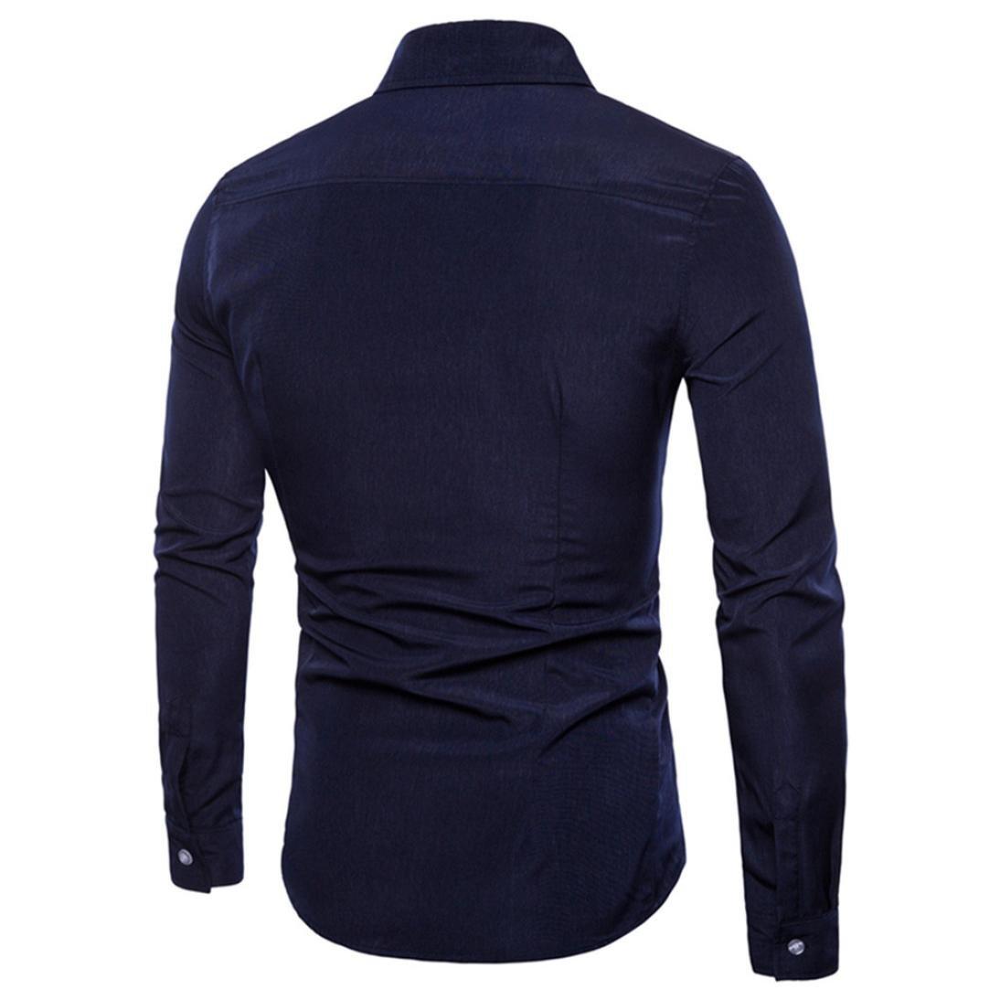 Camisas Casual Hombre Manga Larga, Covermason Trajes Casuales de ...