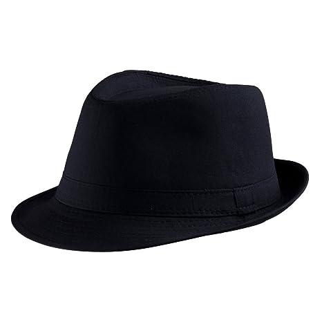 Dress Up America Cappello Fedora nero Adulti  Amazon.it  Giochi e ... fee22488ddb5