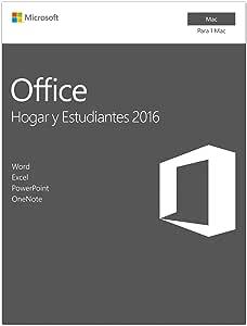 Office Hogar y Estudiantes 2016 -Todas las aplicaciones de