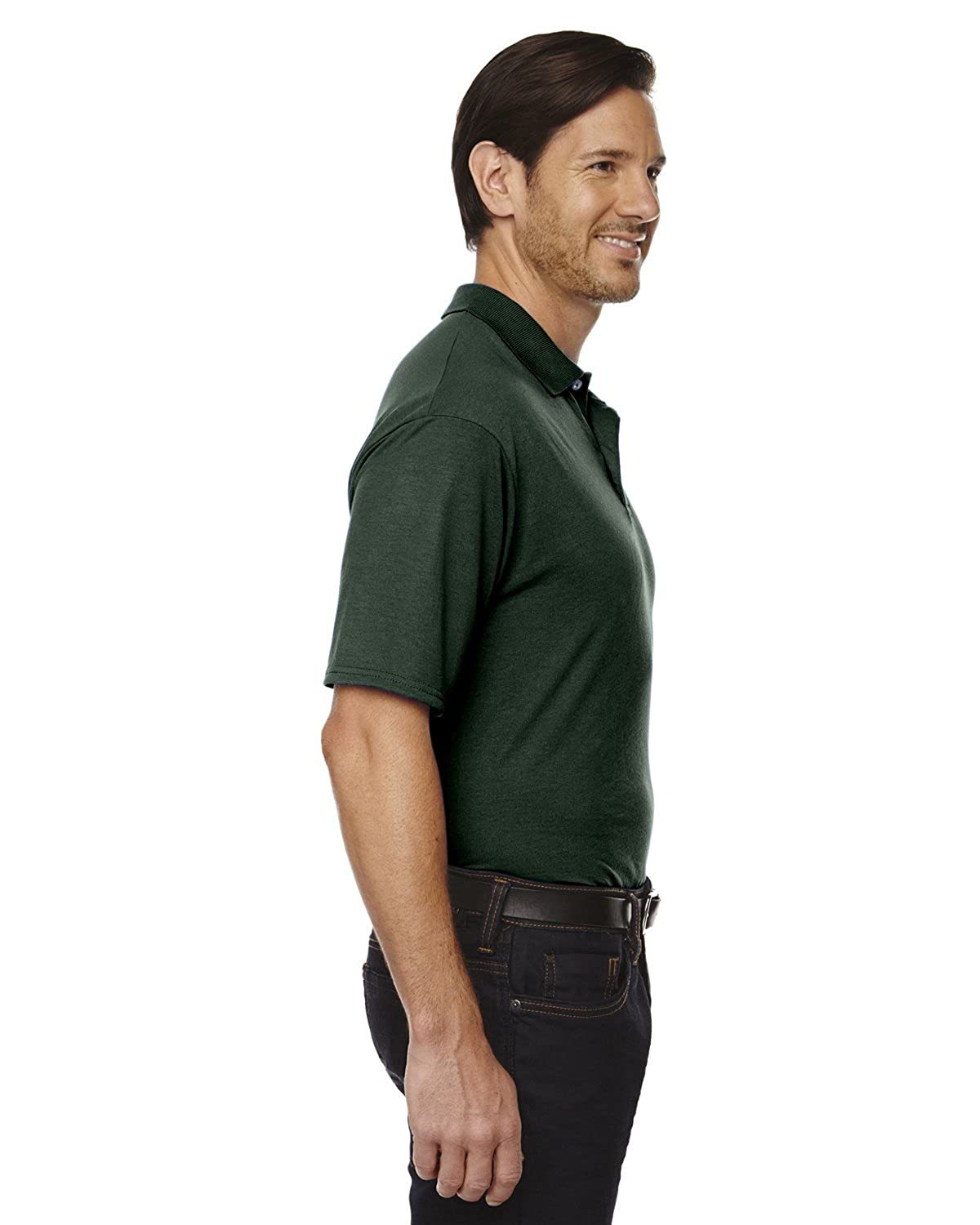 100/% Polyester Sport with Moisture-Wicking Polo Jerzees 5.3 oz 421M