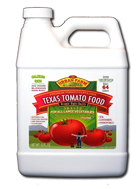 Amazon.com: Urban Granja Fertilizantes Texas Tomate ...