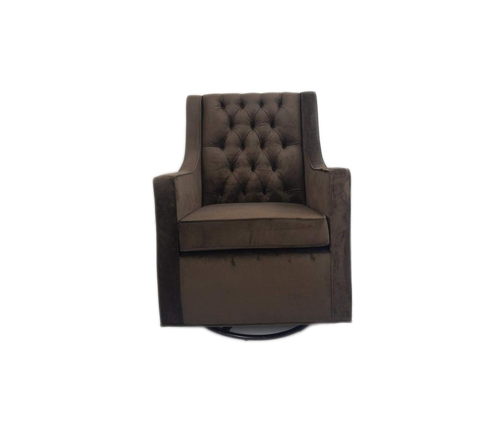 Wood & Style Deluxe Premium Collection Home Furnishings Tres Chic Glider Chocolate Decor Comfy Living Furniture by Wood & Style