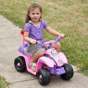 Ride-On-Toy-Quad-Battery-Powered-Ride-On-Toy-ATV-Four-Wheeler-With-Princess-Theme-by-Lil-Rider–Toys-for-Boys-and-Girls-2-4-Year-Olds-Pink