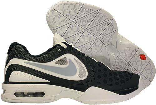 Ese Desarrollar mercado  Amazon.com | Nike Mens Air Max Courtballistec 4.3 Tennis Shoes Rafa Nadal  White/Lite Armory Blue/Armory Navy 487986-145 Size 10.5 | Tennis & Racquet  Sports