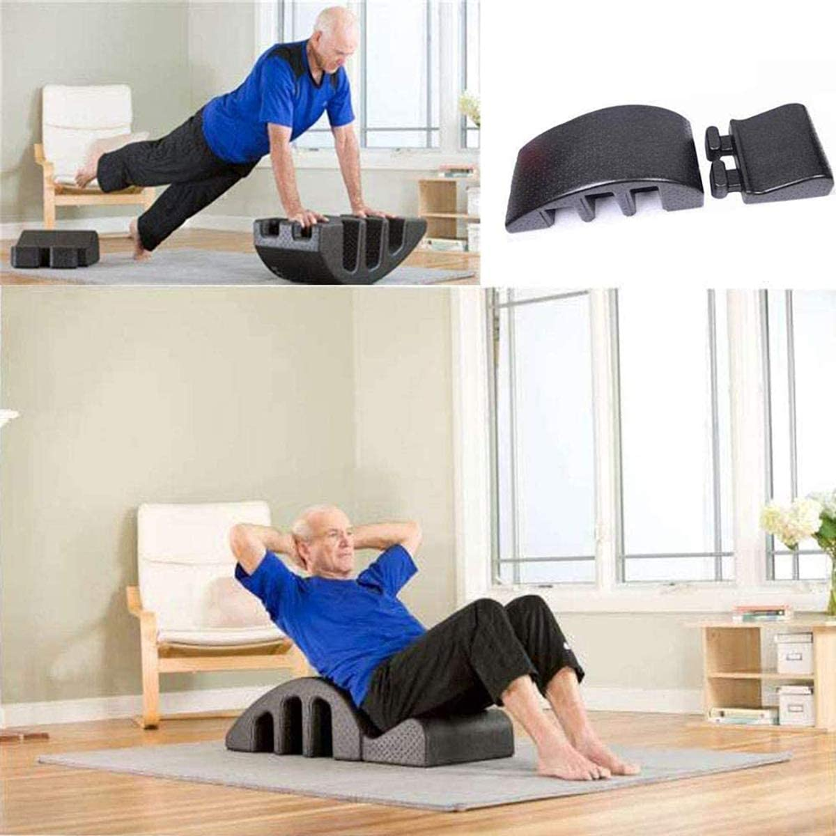 Pilates Reformer Back Pain Relief Pilates Arc Pilates Step Bucket Back Curve Health Alignment of The Spine Large Spine Yoga Equipment Massage Bed
