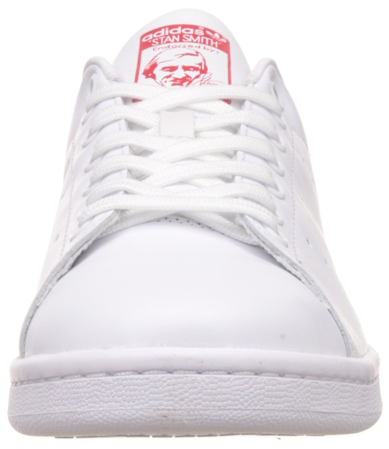adidas White Originals Stan Red) Smith, Sneakers Unisex – Adulto Bianco – (Running White Ftw/Running White Ftw/Collegiate Red) 14ecb33