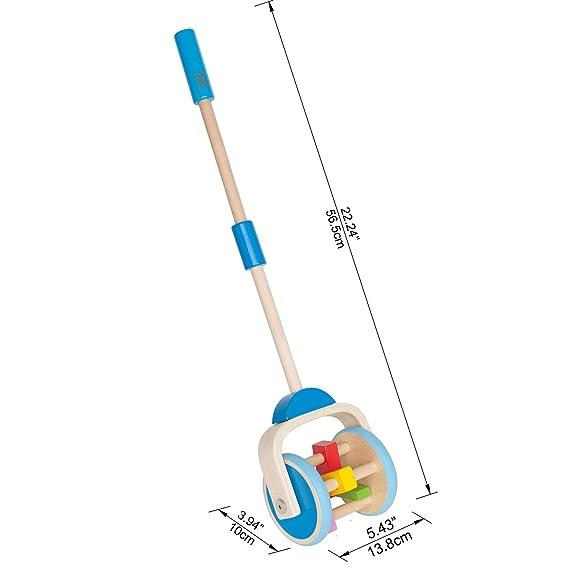 Hape - Arrastre con formas (E0345): Amazon.es: Juguetes y juegos
