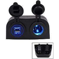 TurnRaise Motos 4.2a Dual USB cargador de coche