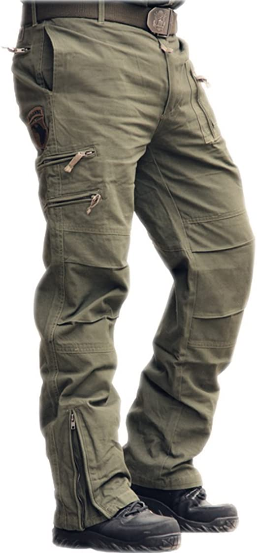 Men/'s Jeans Denim Pant Casual Cargo Combat Work Pants Tactical Trousers Pockets