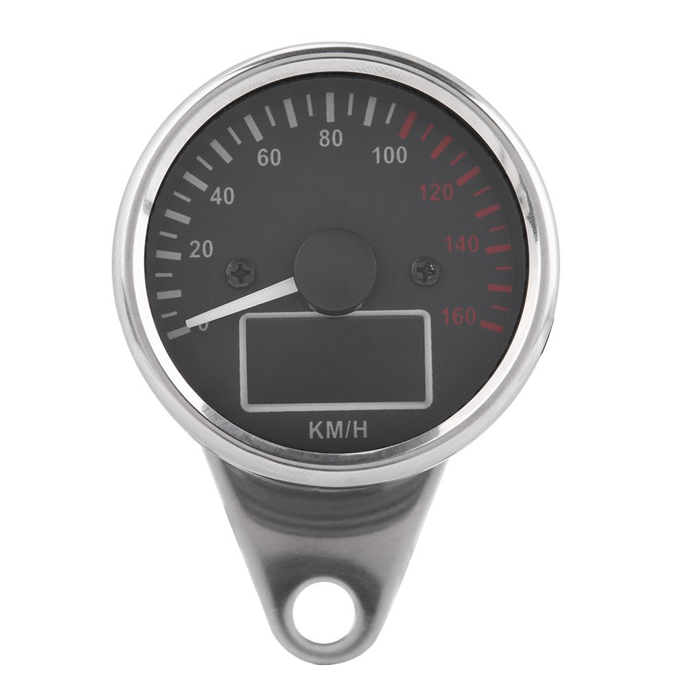 Homyl New Motorbike Universal Tachometer Speedometer Meter Holder Bracket Indicator Mount
