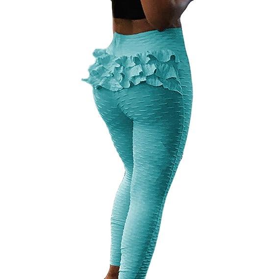 f39f0f3cf5274 Overmal Femme Eté Sexy Impression Taille Haute Maigre Pantalon Legging  Originaux Décontracté Sport Yoga Trousers de
