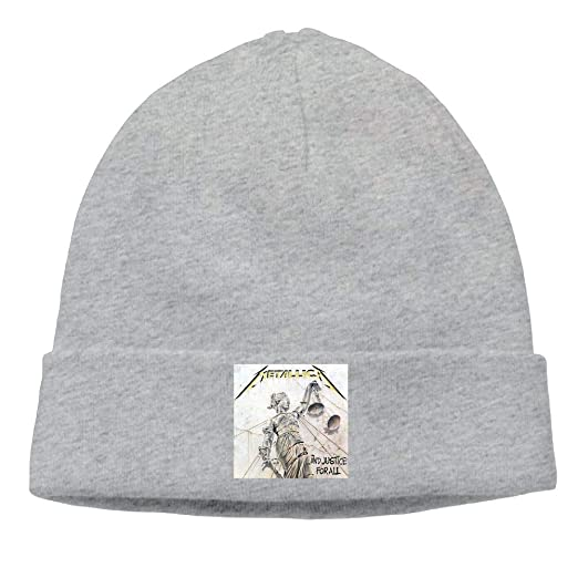 Amazon.com  DuncaMontgo Winter Warm Beanie Hats Me-tallica-.and-Justice-for-All-Remastered  Slouchy Beanie for Men and Women  Clothing 4ddf094b53b