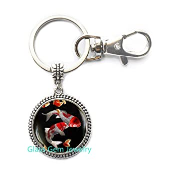 Amazon.com  Koi Fish Keychain 84a07a743159