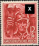 German Empire 909 with hinge 1945 party formation (Stamps for collectors)