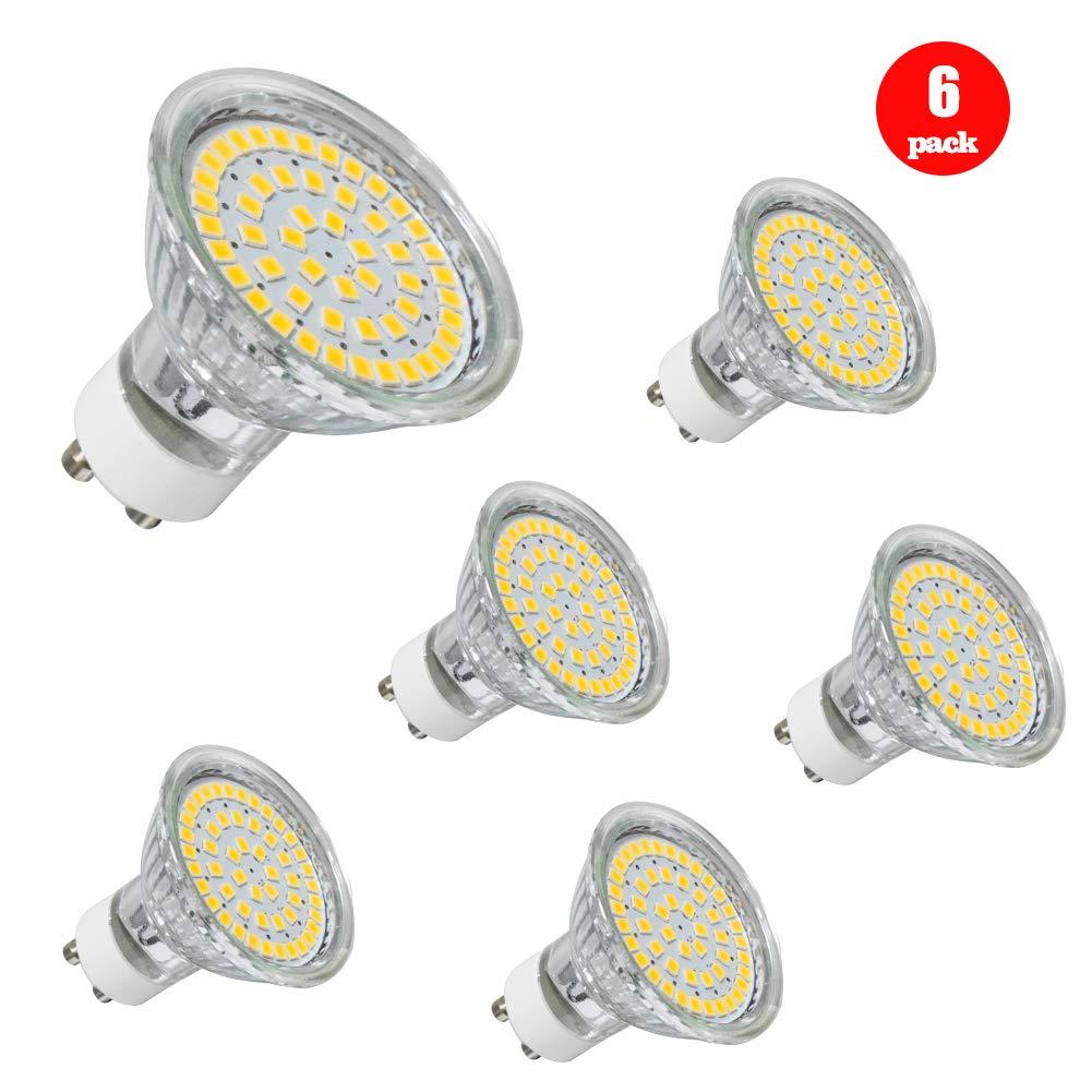 380LM AC100-240V Snxiwth GU10 LED Lampen Birnen Ra80 Nicht Dimmbar,6er Pack 120 /° Abstrahlwinkel GU10 Leuchtmittel GU10 LED Lampe 4W Ersetzt 35W Halogenlampen Warmwei/ß 3000k Energieklasse A+