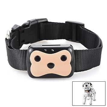 XCSOURCE® GPS perro de perro perseguidor de gato GSM en tiempo real de seguimiento Collar de control remoto a prueba de agua Monitor OS676: Amazon.es: ...