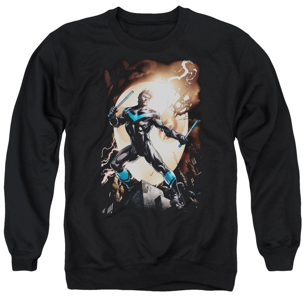 Batman - - Nightwing Against Owls Sweater für Herren