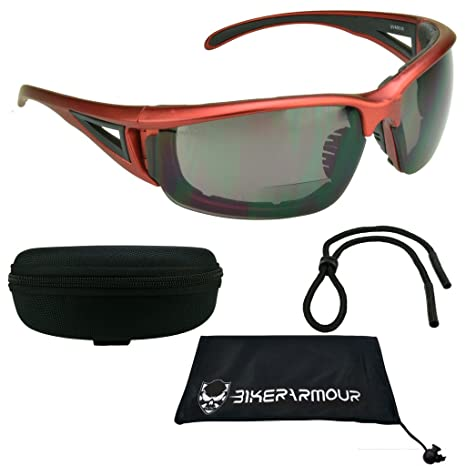 2f24f2697584 Image Unavailable. Image not available for. Color: Motorcycle bifocal  sunglasses ...