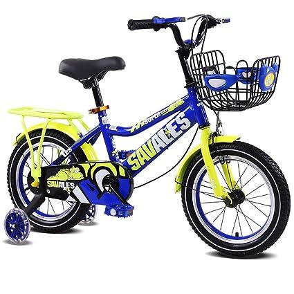 MC-FJ Unisexo Bicicleta para niños, Muchachos Chicas Bici de los niños, 3