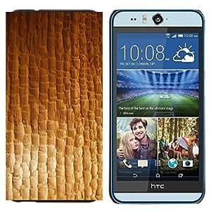 TECHCASE---Cubierta de la caja de protección para la piel dura ** HTC Desire Eye ( M910x ) ** --Textura material textil Modelo del papel pintado