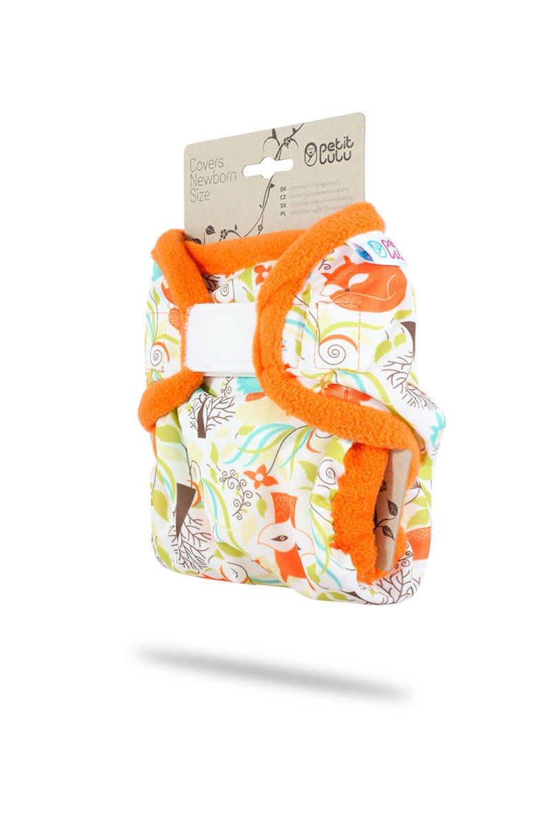 Safari f/ür Stoffwindeln Klett Petit Lulu Neugeborenen /Überhose 2-6 kg
